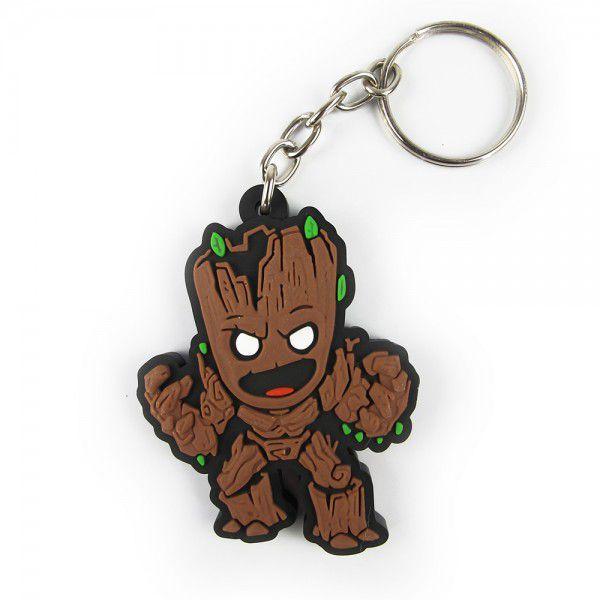 Chaveiro de Borracha Groot: Guardiões da Galáxia