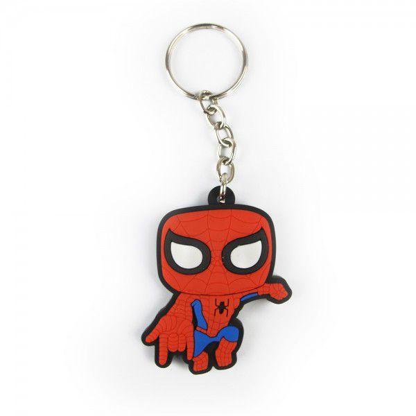 Chaveiro de Borracha Homem-Aranha: Marvel
