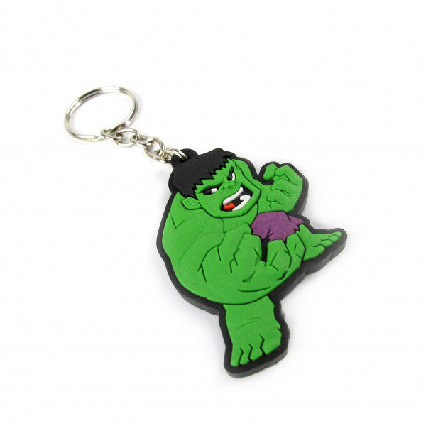 Chaveiro de Borracha Hulk - Fábrica Geek