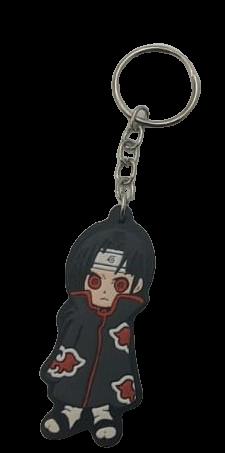 Chaveiro de borracha Itachi Uchiha: Naruto