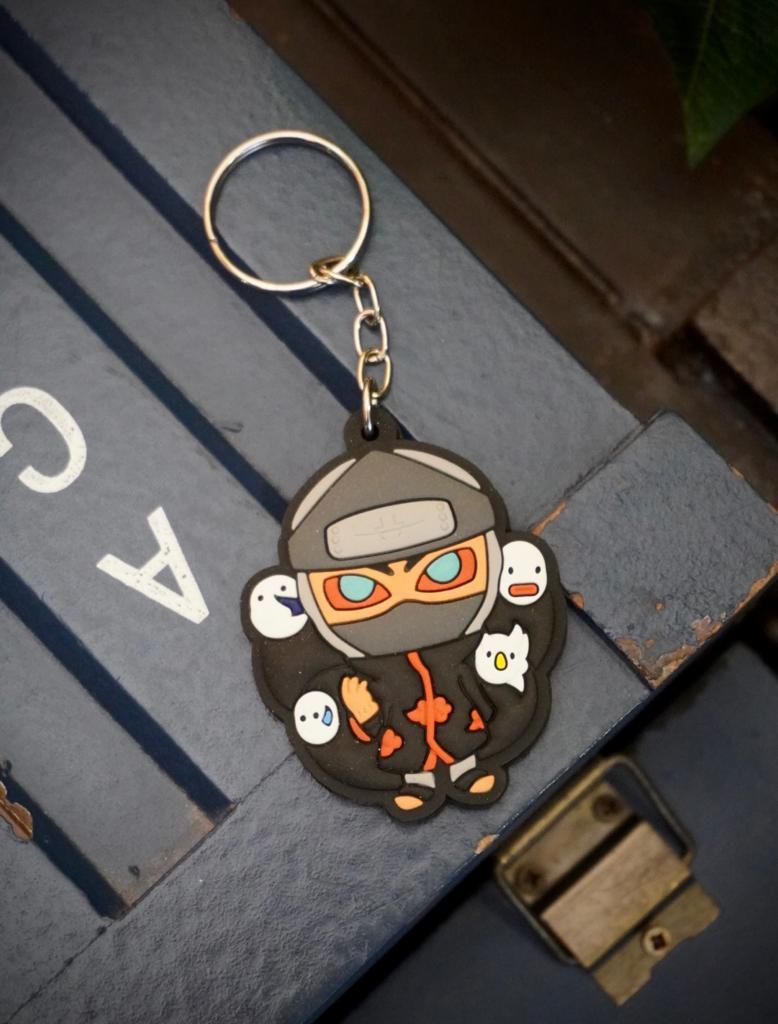 Chaveiro de Borracha Kakuzu Akatsuki: Naruto - EV