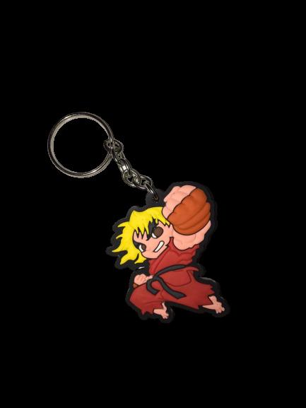 Chaveiro de Borracha Ken: Street Fighter