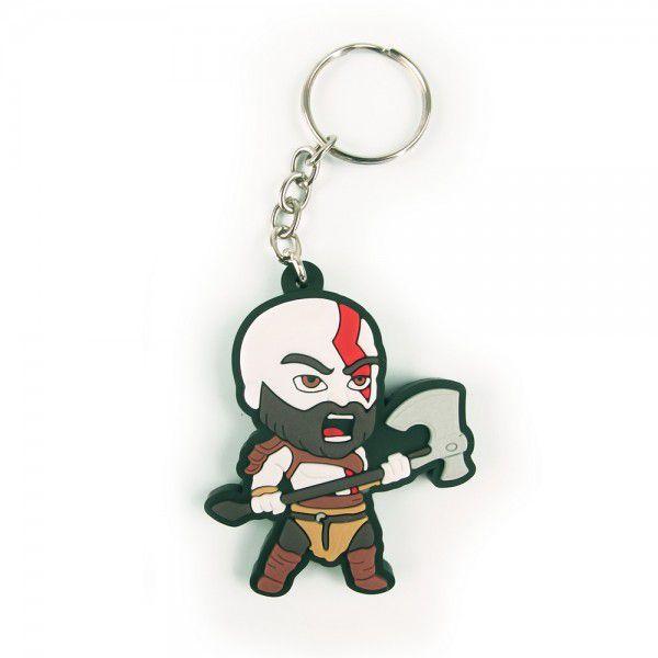 Chaveiro de Borracha Kratos: God Of War