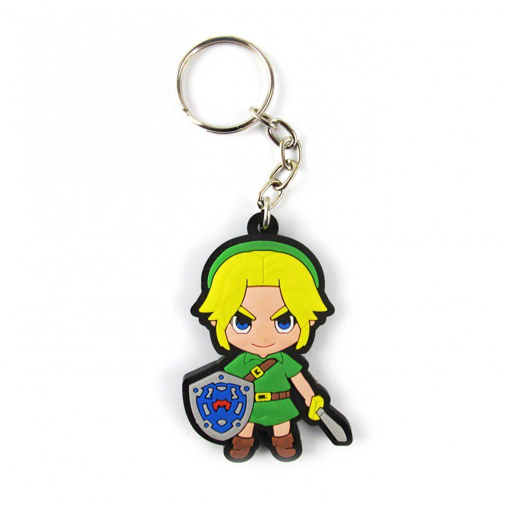 Chaveiro de Borracha Link: Zelda