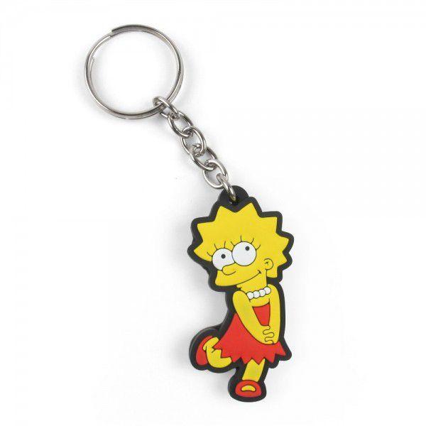 Chaveiro de borracha: Liza Simpsons: Os Simpsons - Fabrica Geek