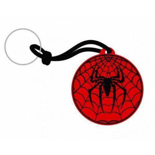 Chaveiro de Borracha Logo Homem-Aranha (Spider-Man)