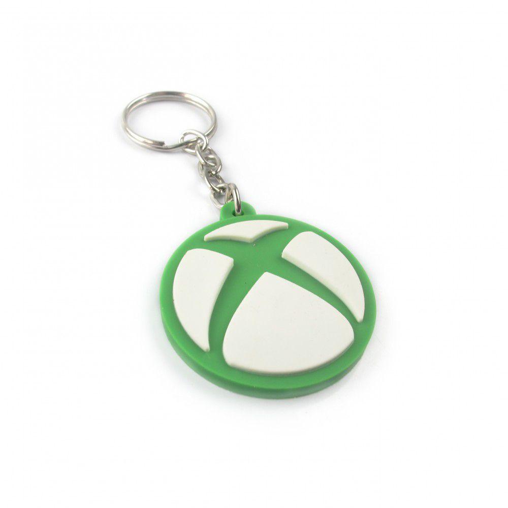Chaveiro de borracha: Logo: Xbox - Fabrica Geek