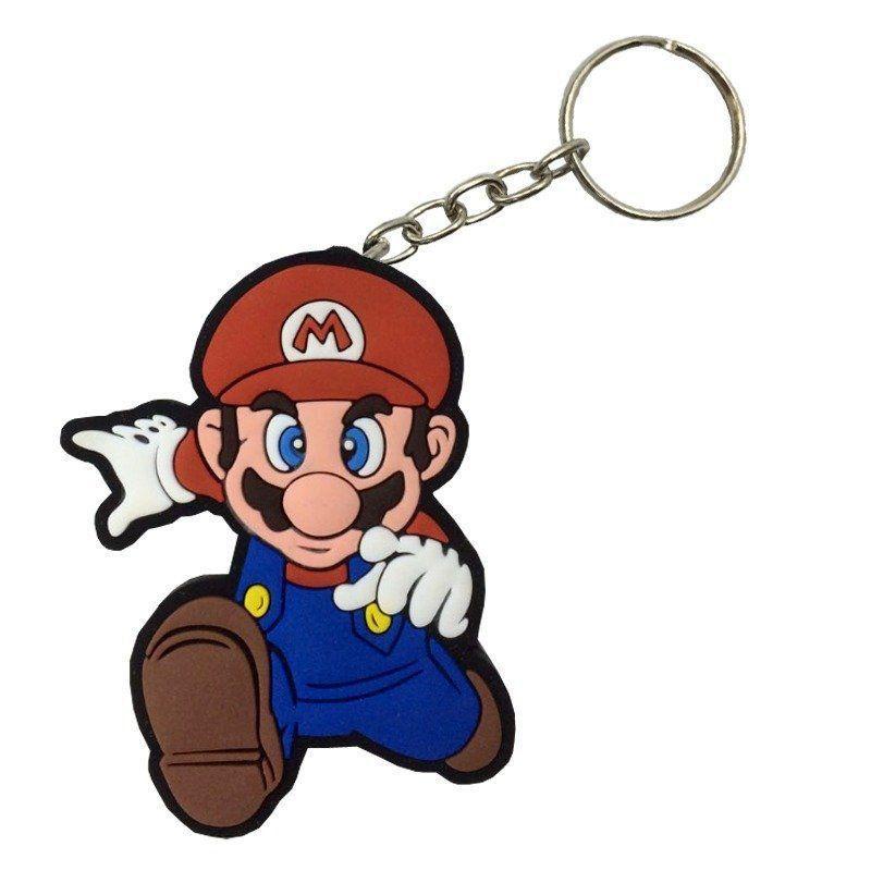 Chaveiro de Borracha Mario: Super Mario Bros