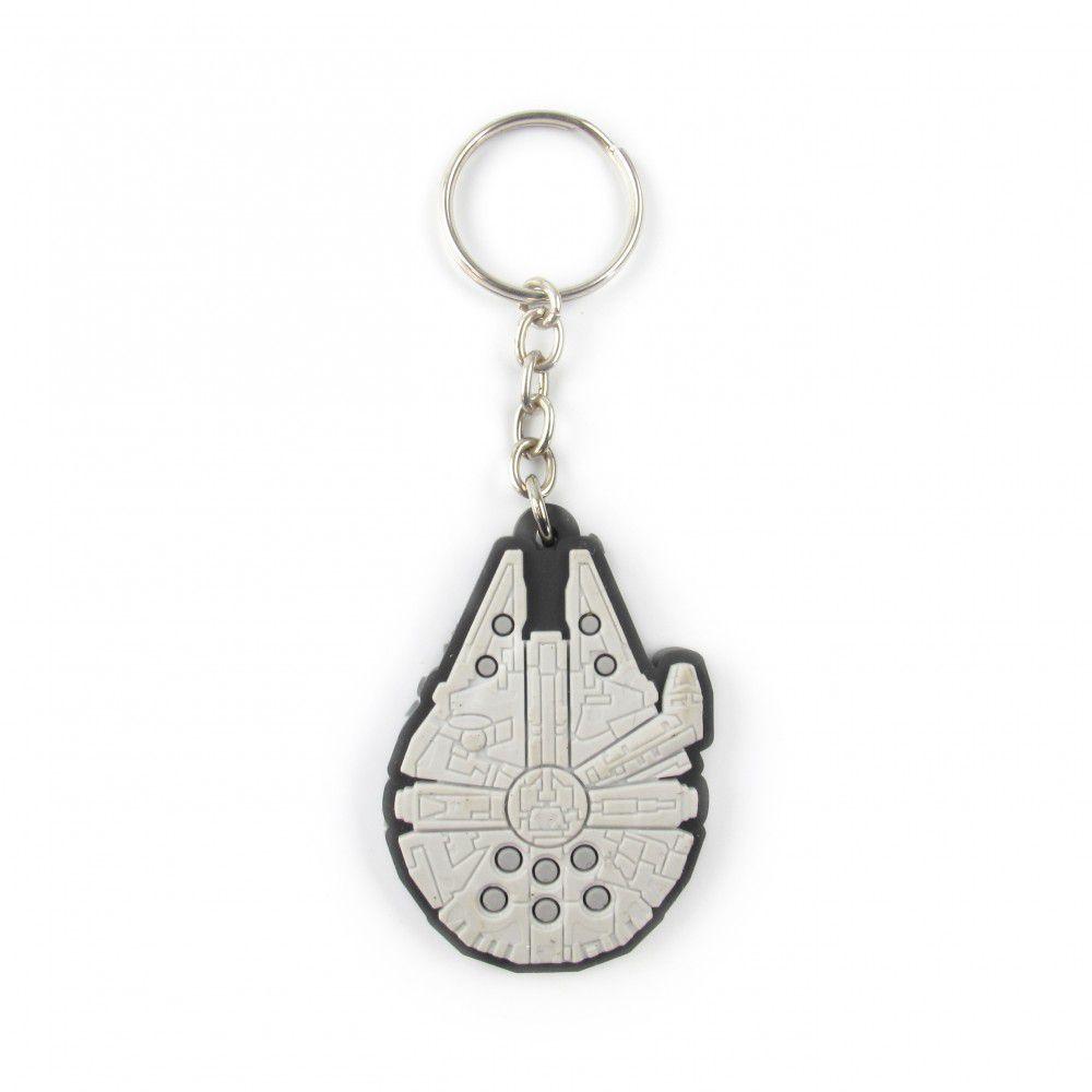 Chaveiro de borracha: Millenium falcon: Star Wars - Fabrica Geek