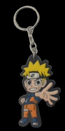 Chaveiro de borracha Naruto Uzumaki: Naruto