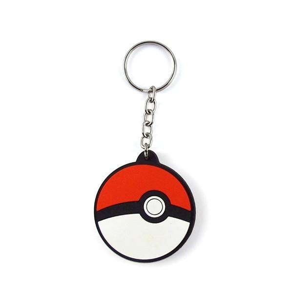 Chaveiro de Borracha: Pokebola: Pokémon