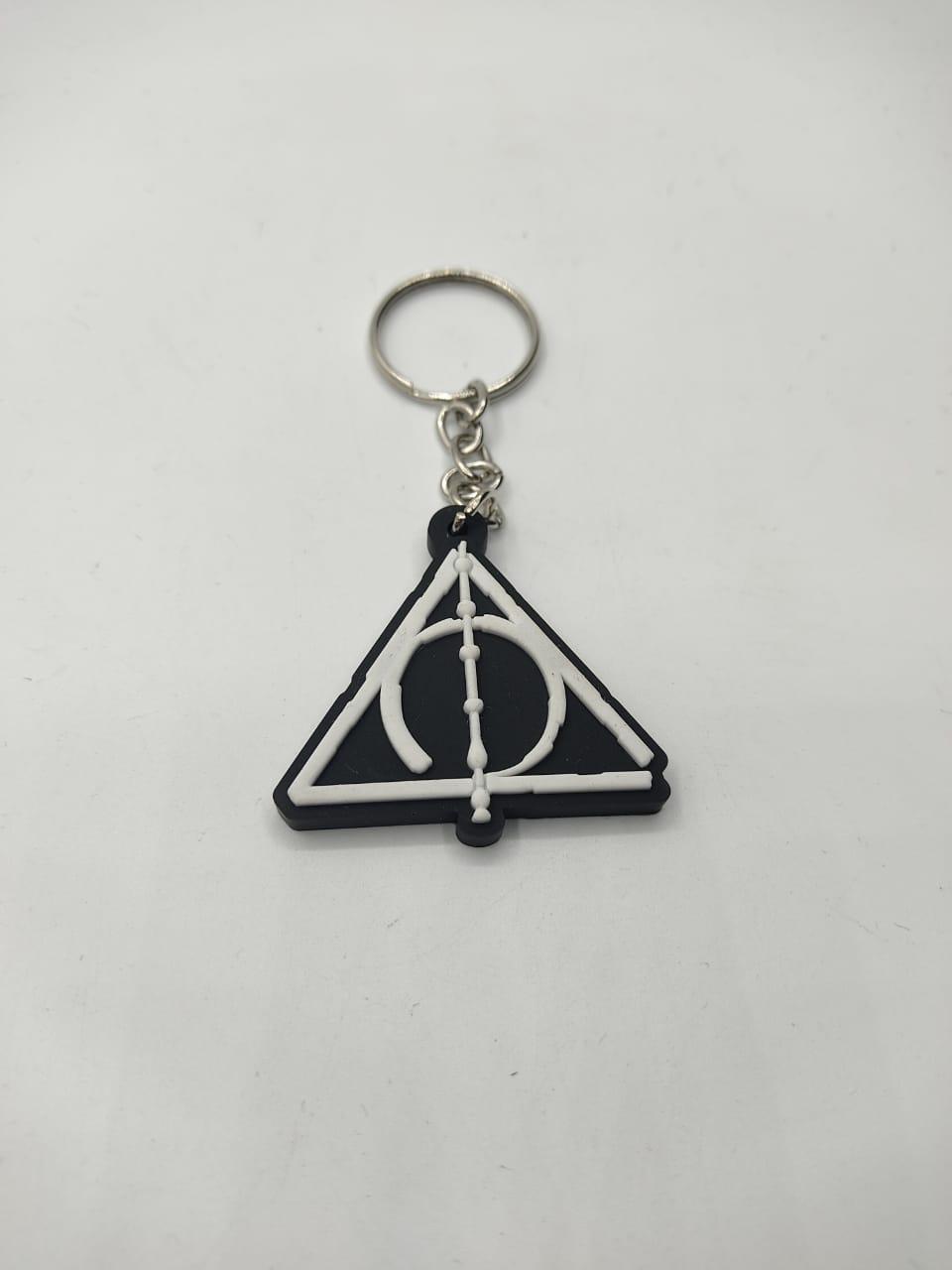 Chaveiro de Borracha Relíquias Da Morte: Harry Potter