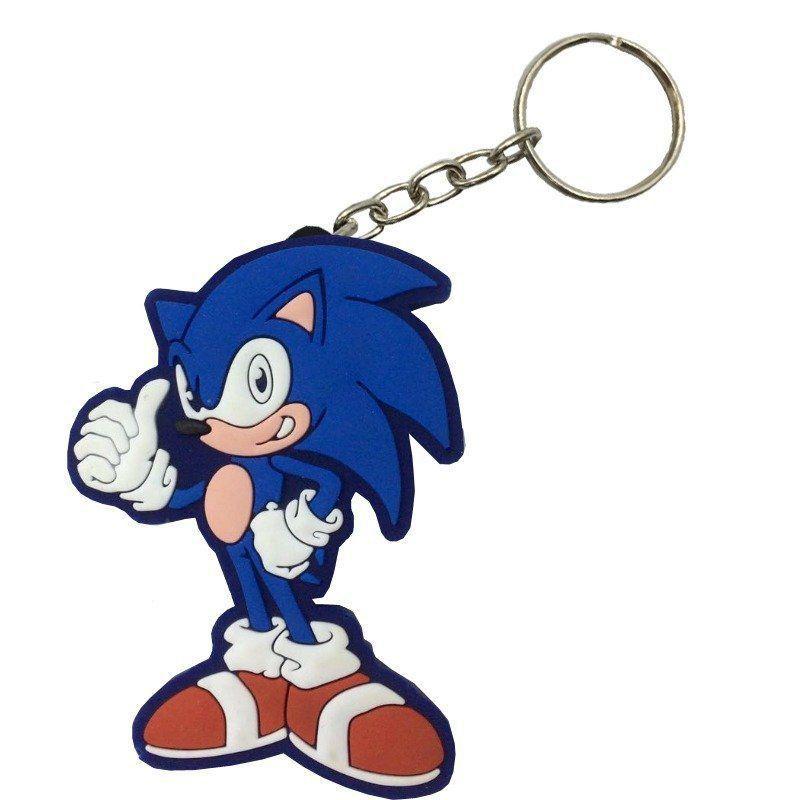 Chaveiro de Borracha Sonic: Sonic the Hedgehog