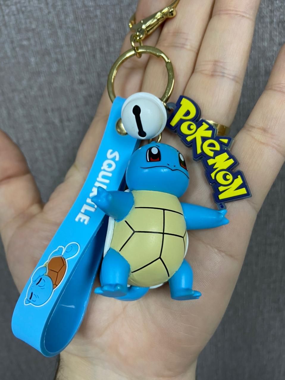 Chaveiro de Borracha Squirtle: Pokémon