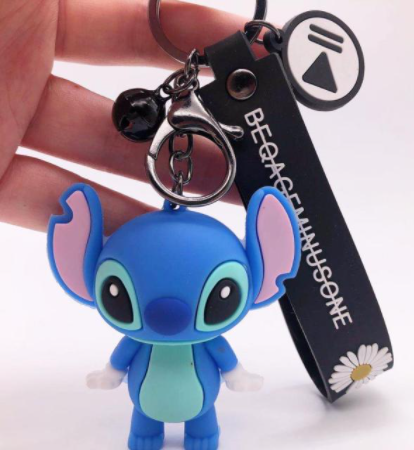 Chaveiro de Borracha Stitch: Lilo & Stitch Disney - EVALI