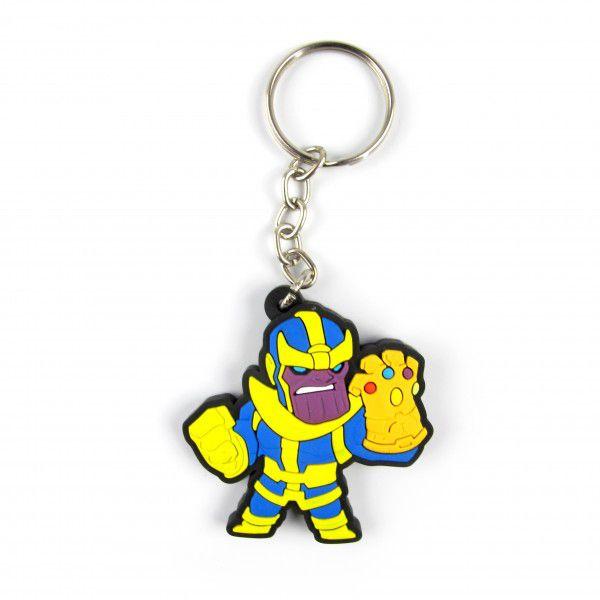 Chaveiro de Borracha Thanos: Marvel - Fábrica Geek