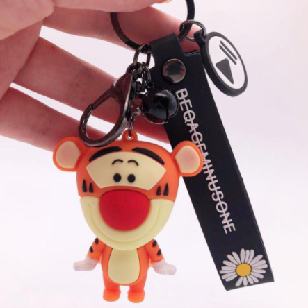 Chaveiro de Borracha Tigrão: O Ursinho Pooh Disney - EVALI