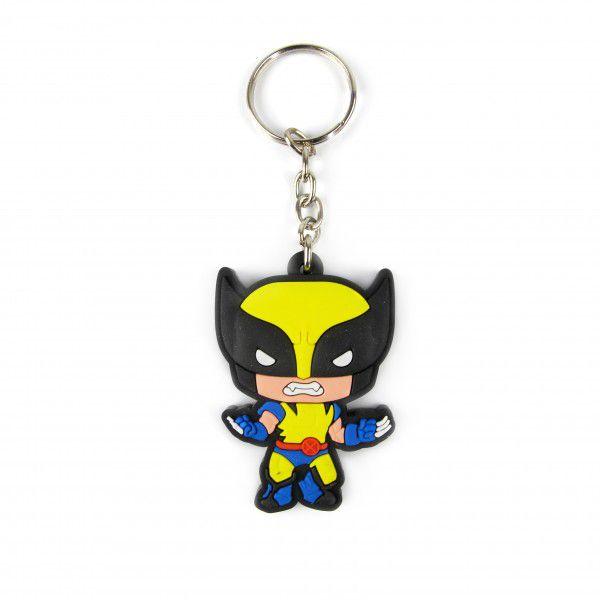 Chaveiro de Borracha Wolverine: X-Men - Fábrica Geek