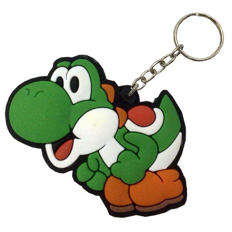 Chaveiro de Borracha Yoshi: Super Mario Bros