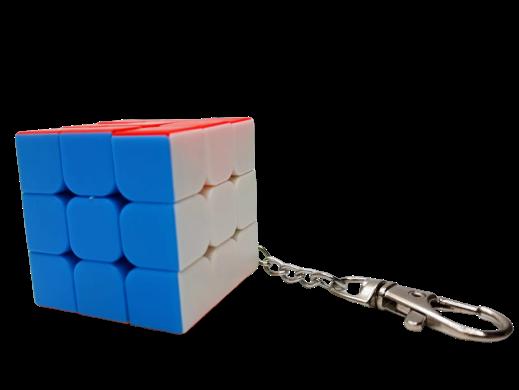 Chaveiro de Cubo Mágico 3x3 (JHT850) - Jiehui Toys