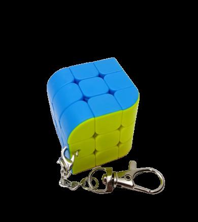 Chaveiro de Cubo Mágico 3x3 (JHT851) - Jiehui Toys
