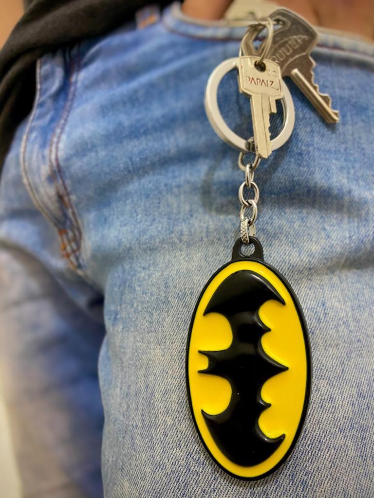 Chaveiro de Metal Logo Batman: DC Comics