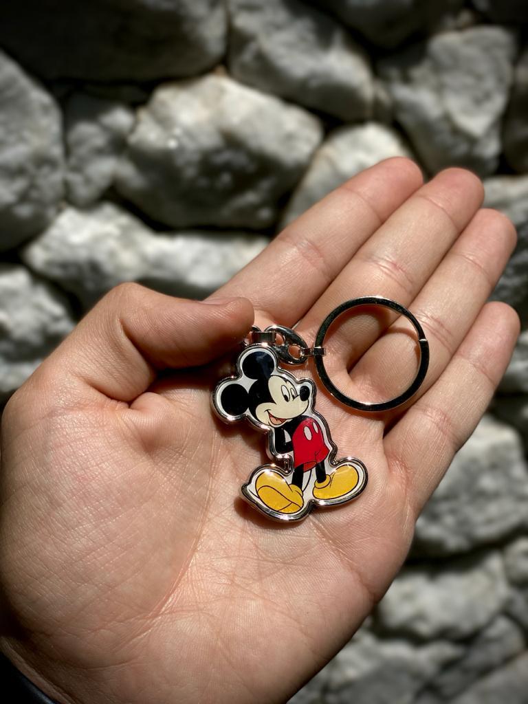 Chaveiro de Metal Mickey