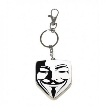 Chaveiro de Metal V for Vendetta