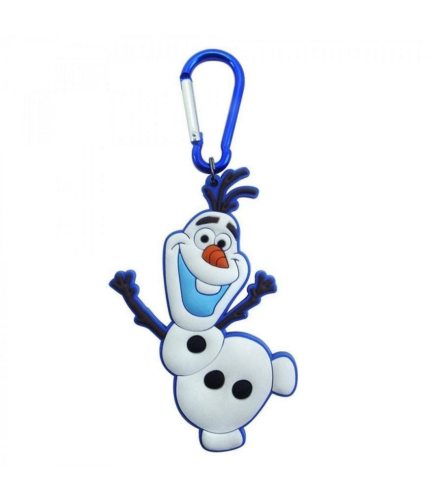 Chaveiro Emborrachado Olaf Acenando: Frozen - Disney