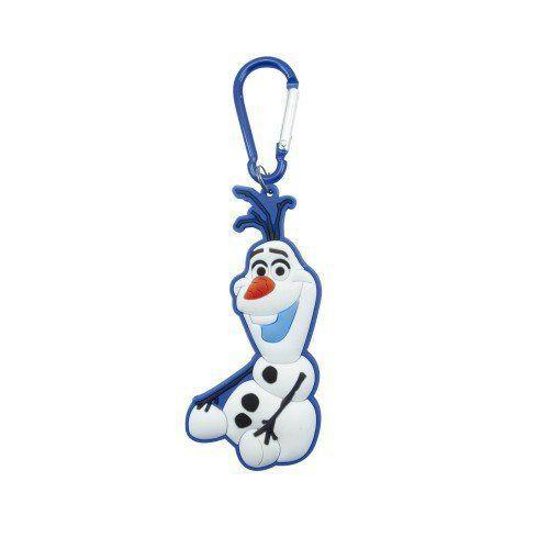Chaveiro Emborrachado Olaf Sentado: Frozen - Disney