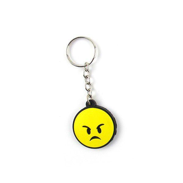 Chaveiro Emoji Bravo
