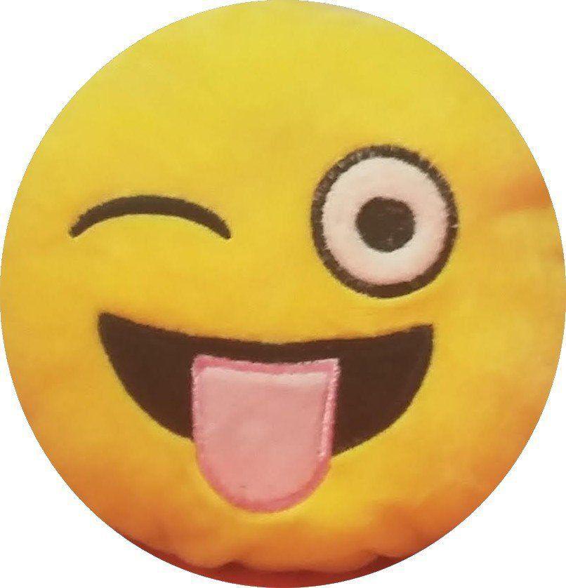 Chaveiro Emoji Lingua Rosa