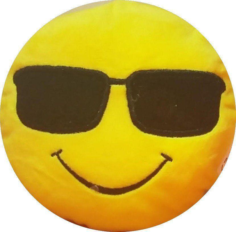 Chaveiro Emoji Óculos Escuro