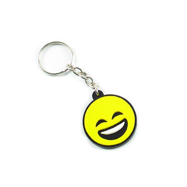 Chaveiro Emoji Sorrindo - Fábrica Geek