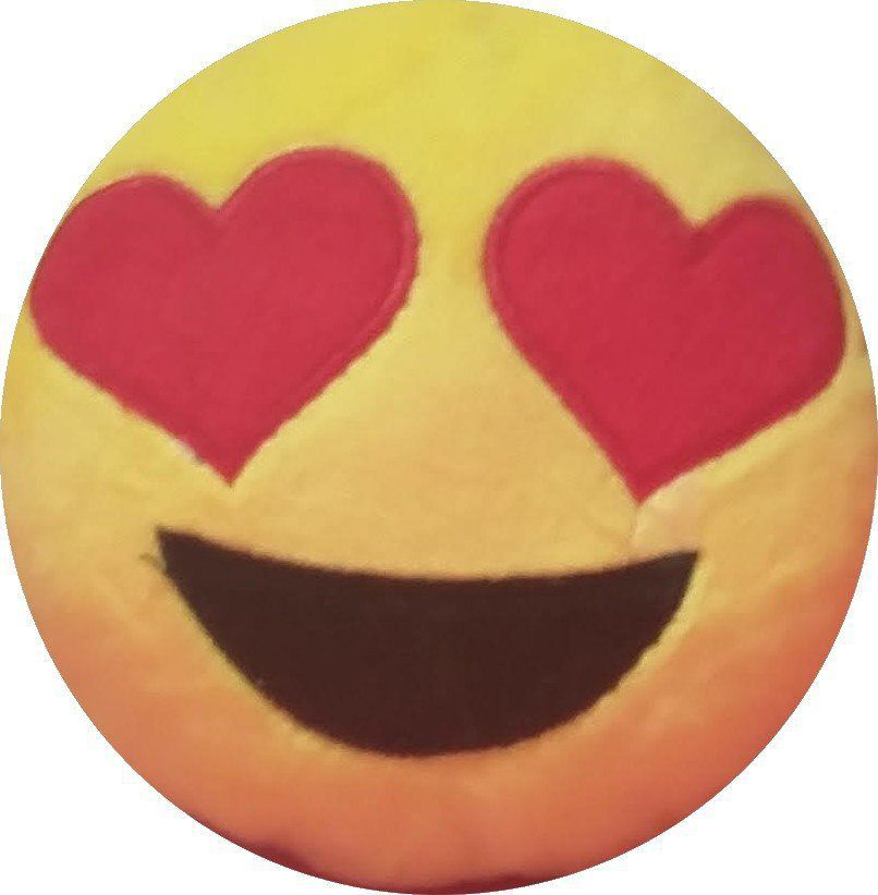 Chaveiro Emoji Super Apaixonado