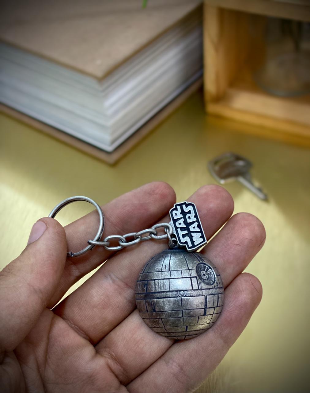 Chaveiro Estrela da Morte: Star Wars