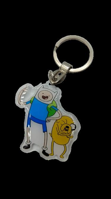 Chaveiro Finn e Jake: Hora de Aventura (Adventure Time)