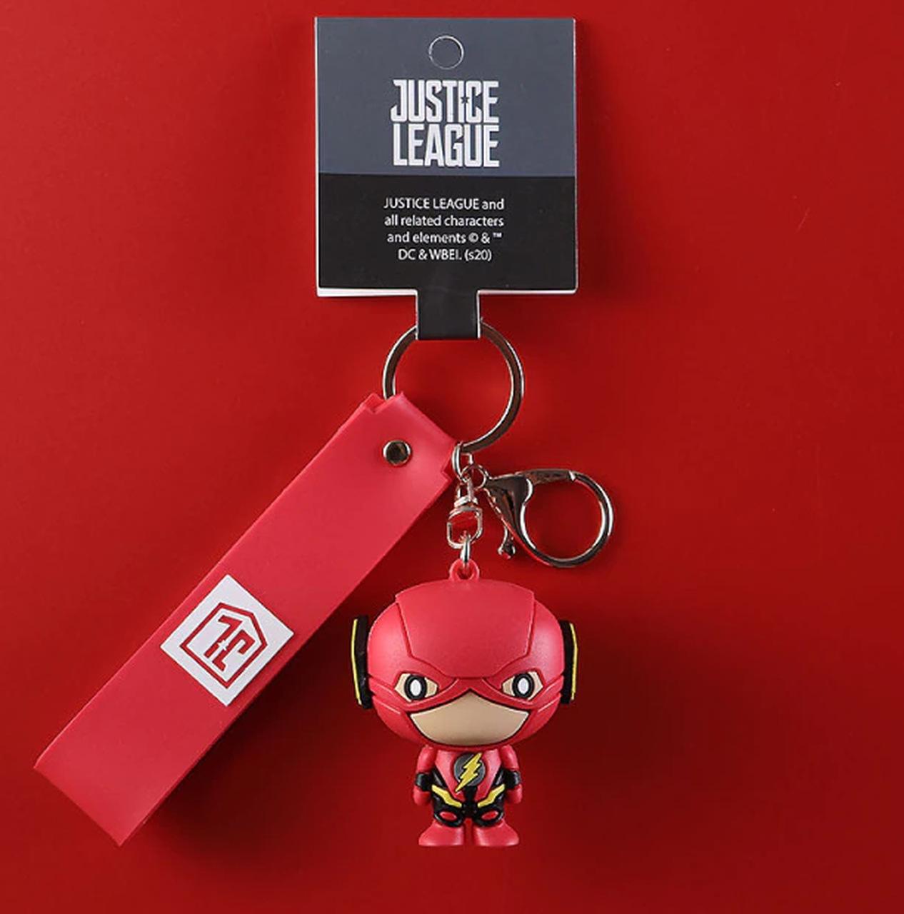 Chaveiro Flash: The Flash Liga da Justiça Justice League DC Comics - EVALI