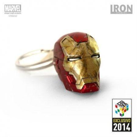 Chaveiro Iron-Man Mark XLII Battle Damaged (Exclusivo CCXP 2014) - Iron Studios