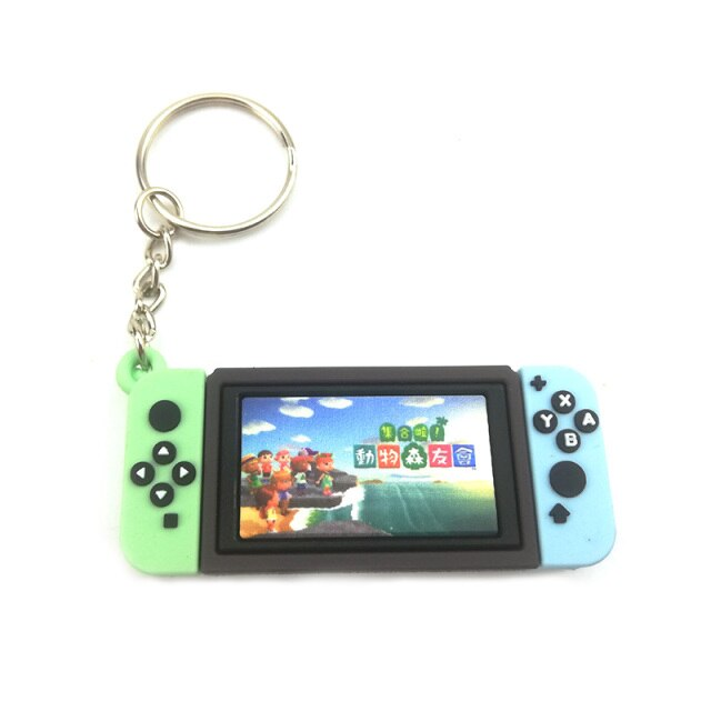Chaveiro Keychain Nintendo Switch Animal Crossing New Horizons - EVALI