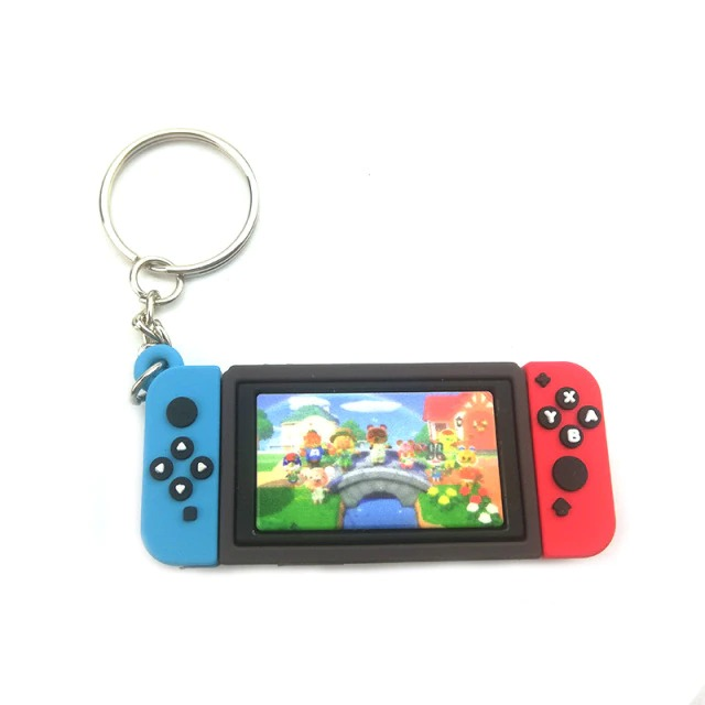 Chaveiro Keychain Nintendo Switch Animal Crossing New Horizons Ver. 2 - EVALI