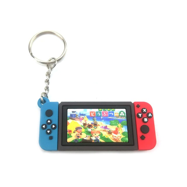 Chaveiro Keychain Nintendo Switch Animal Crossing New Horizons Ver. 3 - EVALI