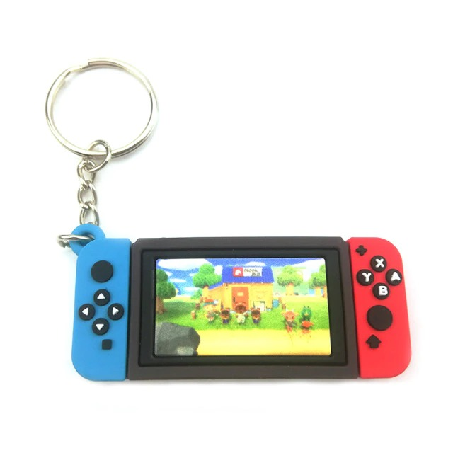 Chaveiro Keychain Nintendo Switch Animal Crossing New Horizons Ver. 4 - EVALI