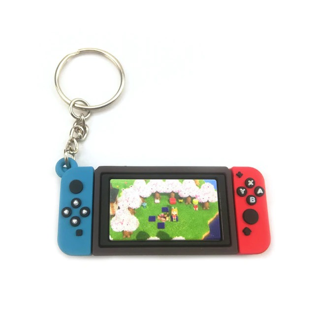 Chaveiro Keychain Nintendo Switch Animal Crossing New Horizons Ver. 5 - EVALI