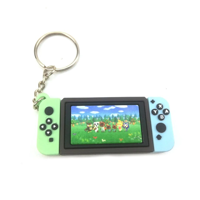 Chaveiro Keychain Nintendo Switch Animal Crossing New Horizons Ver. 6 - EVALI