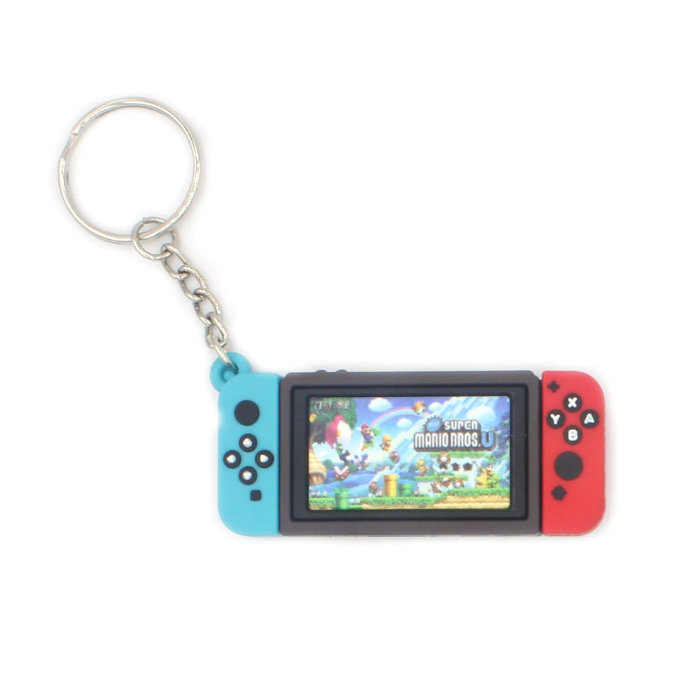 Chaveiro Keychain Nintendo Switch New Super Mario Bros. U - EVALI