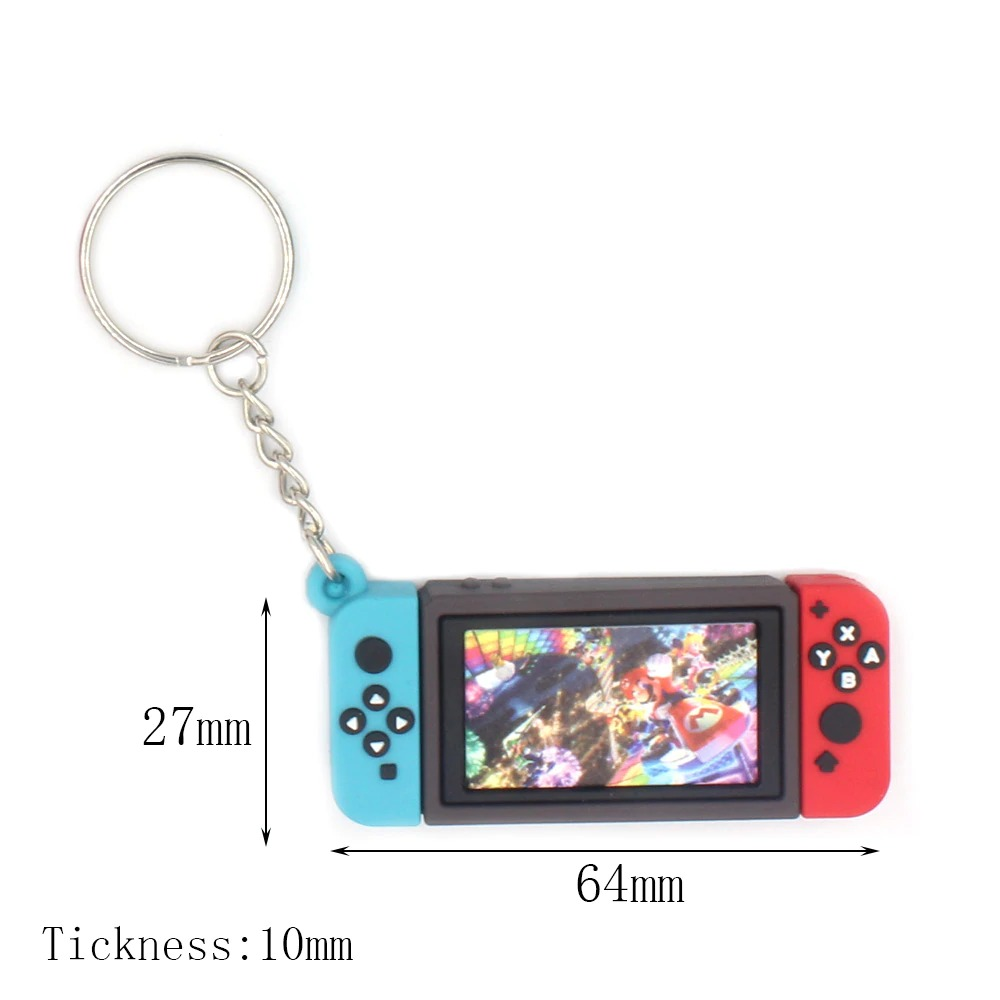 Chaveiro Keychain Nintendo Switch New Super Mario Bros. U - EVALI