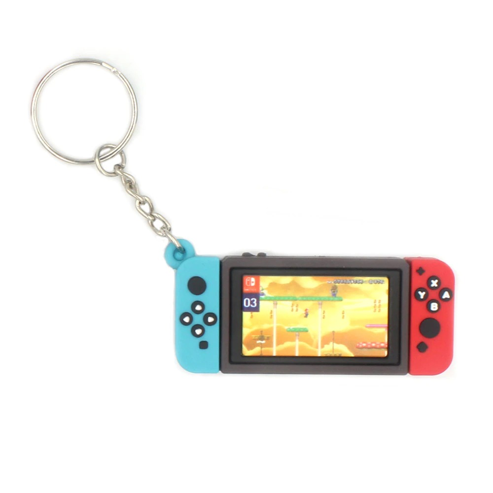 Chaveiro Keychain Nintendo Switch New Super Mario Bros. U Fase Do Céu - EVALI