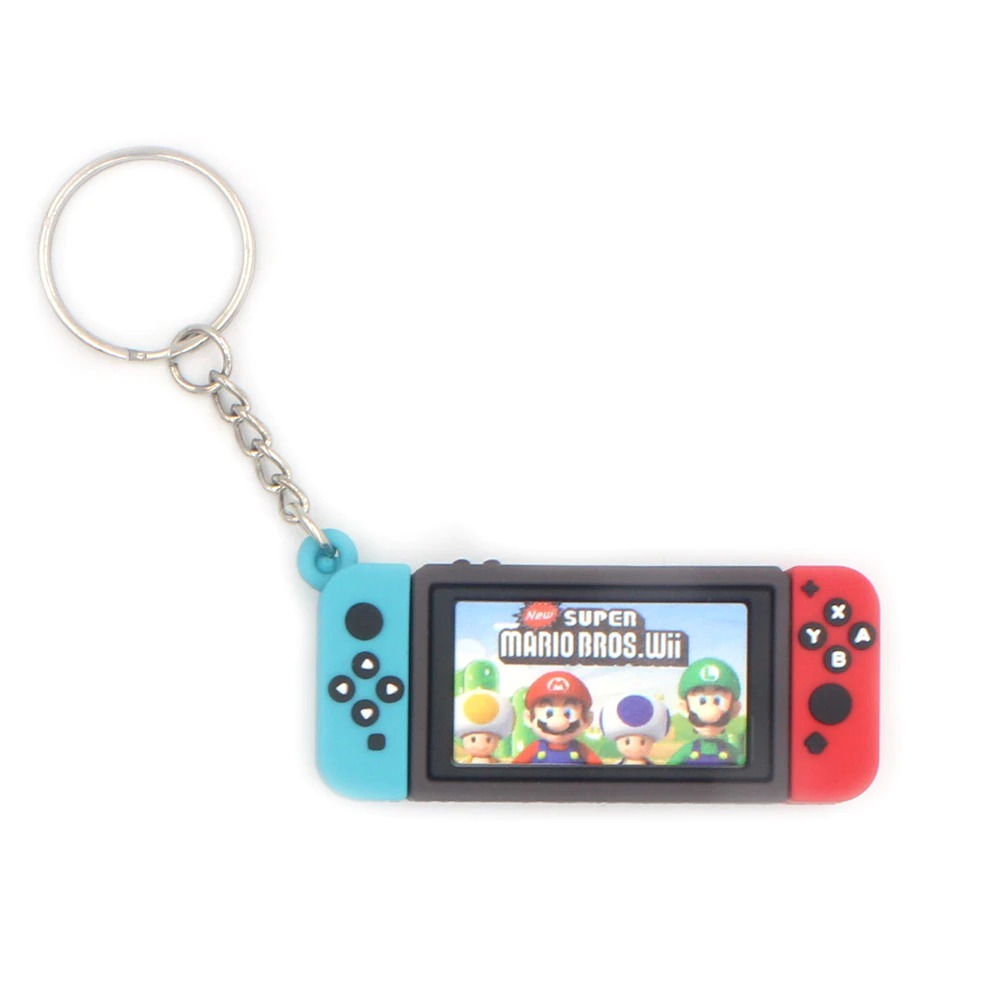 Chaveiro Keychain Nintendo Switch New Super Mario Bros. Wii - EVALI