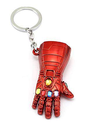 Chaveiro Manopla do Infinito (Nano Gauntlet): Vingadores Ultimato (Avengers Endgame) - (Vermelho)
